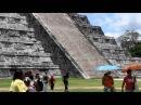 Змей спускается с небес, Чичен Ица.  Мексика