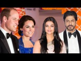 Prince William &amp Kate Middleton's Royal Dinner Party Shahrukh Khan Aishwarya Rai FULL EVENT