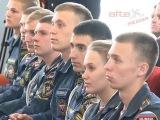 Александр Кудрявцев принял участие в церемонии вручения паспортов суворовцам и курсантам института противопожарной службы МЧС