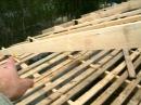 Страпила двухскатной крыши гараж 7 5х13 5м