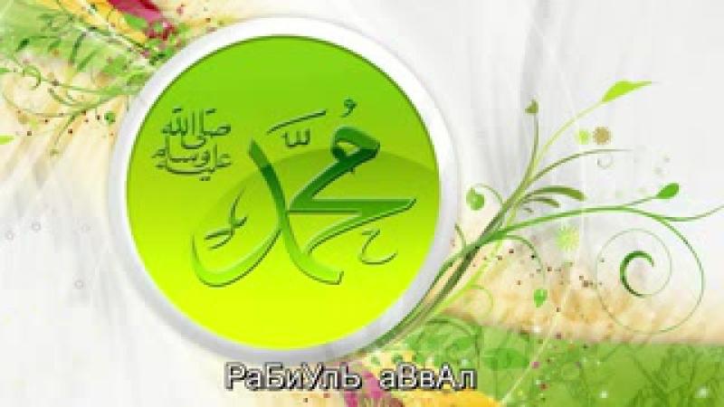 Группа Райхан Мавлид о Пророке Мухаммаде ﷺ_low