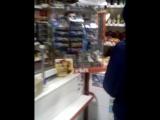 купил жвачку в противогазе )