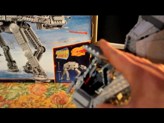 Timelapse LEGO STAR WARS 75054 AT-AT