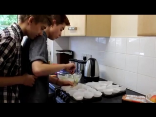 Jake Edwards and Alex Bertie