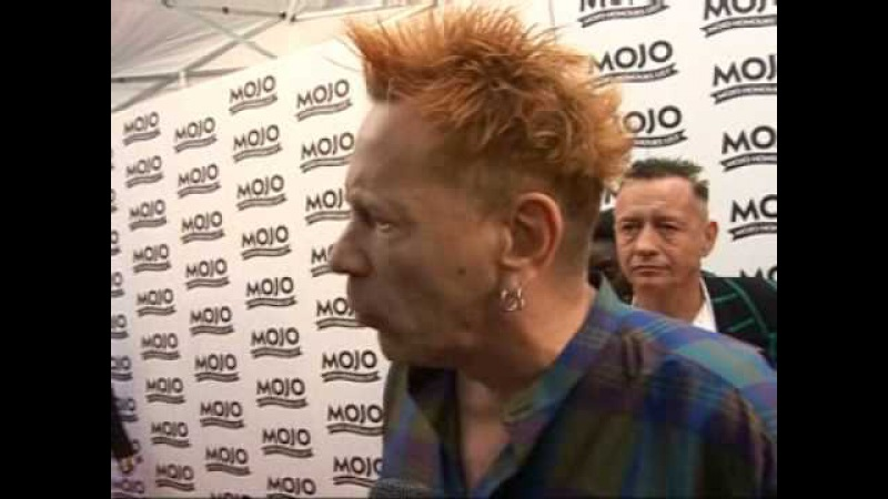 Johnny Rotten lets loose