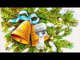 Волшебство в Рождество! Поздравление Зайки Zoobe. Zoobe на русском.
