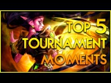 Hearthstone Top 5 Best Tournaments Moments! - Funny and Epic Plays - Top Deck