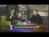 KSWB-TV Fox 5 discusses The Eye of God A Sigma Force Novel w Action Thriller Author James Rollins