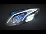 MULTIBEAM LED headlamps in the new E-Class - Mercedes-Benz original