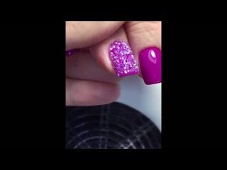 """Декор ногтей с помощью """"Кристал пикси"""" от Клуба Супер Ногти"""