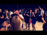 Азамат Биштов на свадьбе у Алибердовых