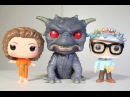 Ghostbusters GATE KEEPER, ZUUL, KEY MASTER Funko Pop 3-pack review