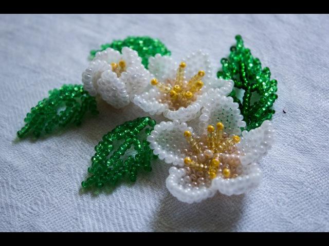 Цветы в технике Мозаичного плетения