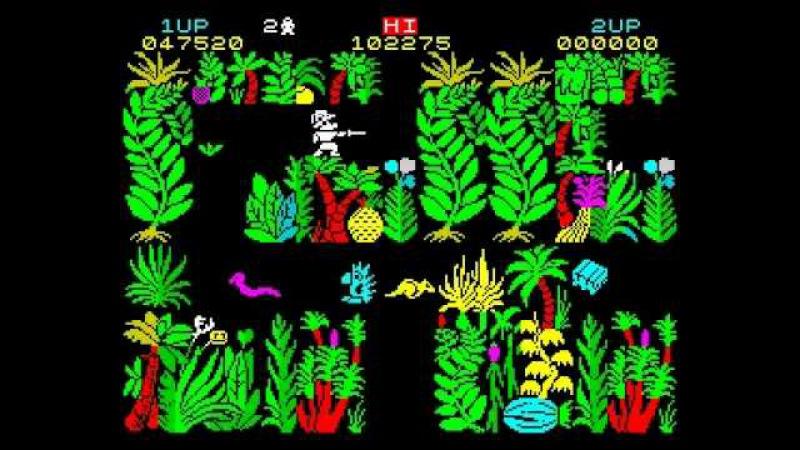 Sabre Wulf Walkthrough ZX Spectrum