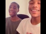 The boys sing