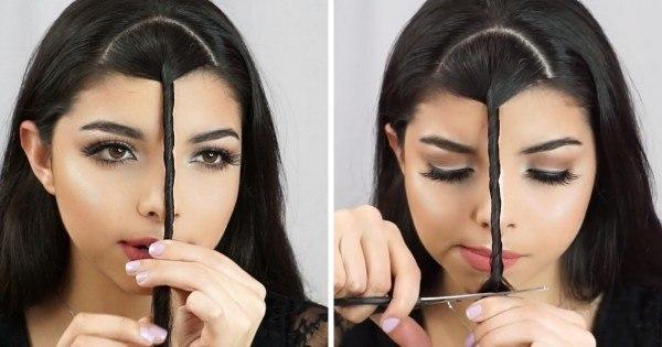 Она закрутила волосы и взяла ножницы… Через 3 секунды я был ошеломлен результатом!