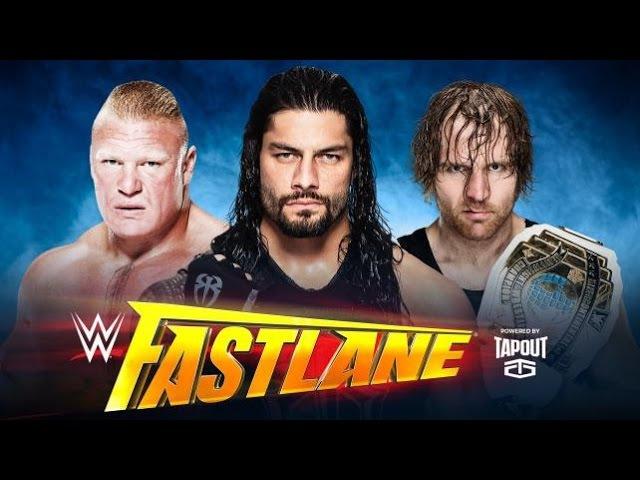► Brock Lesnar vs. Dean Ambrose vs. Roman Reigns WWE Fastlane 2016 Promo ᴴᴰ ◄
