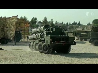 Зенитный ракетный комплекс С-400 заступил на боевое дежурство в Сирии - Первый канал