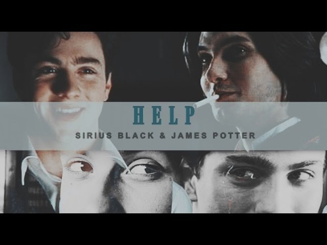 ● Sirius Black James Potter | Help