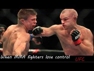 When MMA & UFC Fighters Lose Control 2015 when mma & ufc fighters lose control 2015