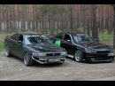 Toyota Mark II jzx90 and Toyota Chaser jzx90 drift