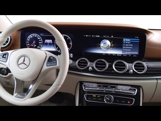 Preview of the new E-Class interior design.