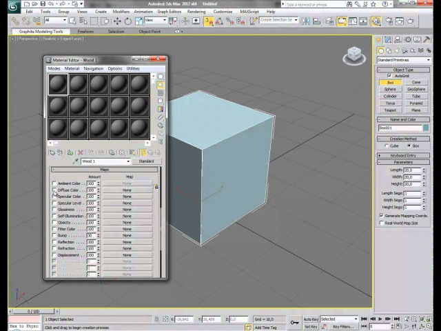 How to create a Specular Bump texture from a Difuse and how to apply in 3DS MAX 2012