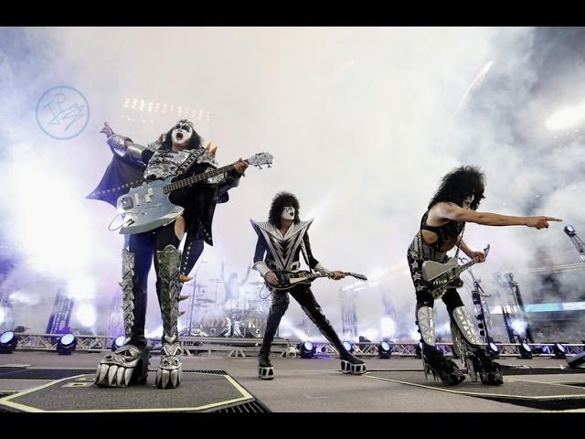KISS - Detroit Rock City - Dodger Stadium, 25012014 (LA Kings vs. Anaheim Ducks)