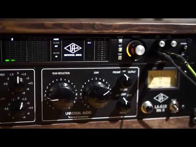 UA 6176 ( 610B 1176LN) and LA-610 MK2 vs UA plugins and unison