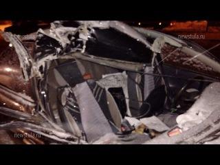 В ДТП на М-2 под Тулой серьезно пострадали два человека