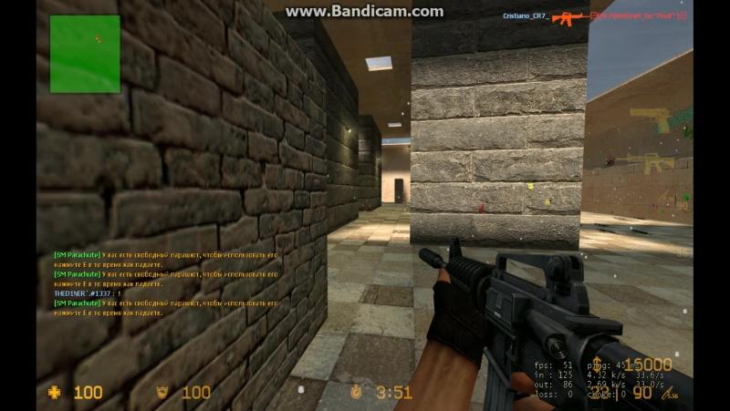 Counter Strike Sourсe: Мы с Илюхой против Читеров