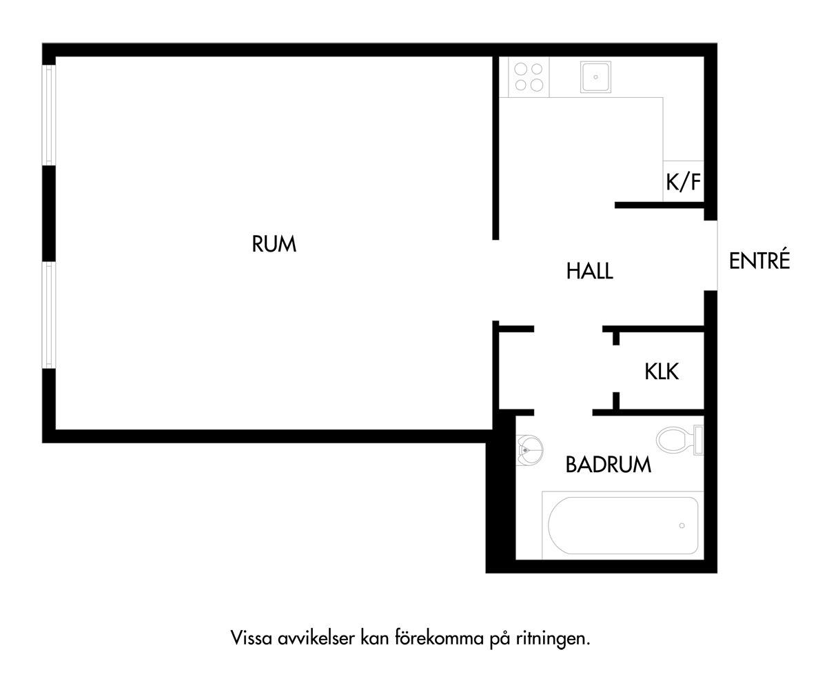 Интерьер студии 31 м с внутренним окном из кухни в комнату.