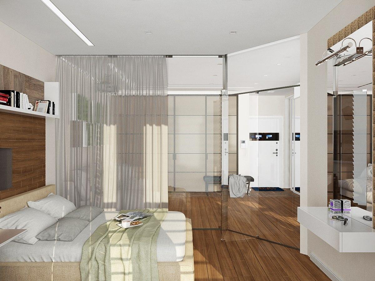 Проект квартиры 42 м.