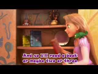 Tangled (Rapunzel). Wonderful song (+English subs) #topnotchenglish