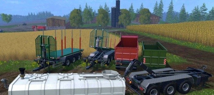 Farming Simulator 2015 ITRunner Pack