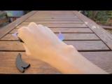 Видео обзор настоящего ножа из CS-GO Керамбит|Градиент от https://vk.com/knifecsgo24