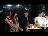 [27.12.15] SBS Gayo Daejun | Интервью рождённых в год обезьяны (Мёнсу)