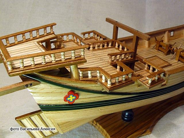 Китайская джонка (Amati Масштаб 1:100) P-3mbMocANI