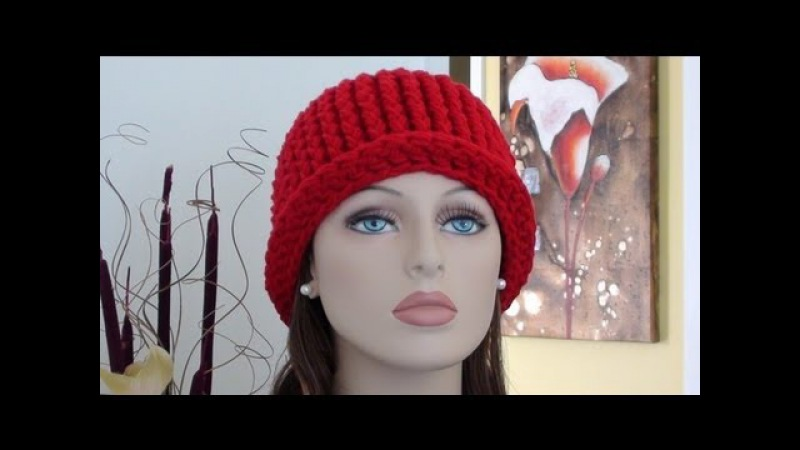 CHY Ribbed Crochet Hat How to Crochet Ribbed Crochet Hat