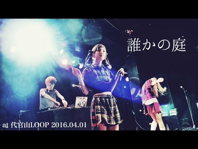 2016.04.01 おやすみホログラム / 誰かの庭 @代官山LOOP