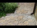 Как изготовить форму для бетонной плитки самому