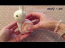 Lumaca amigurumi (tutorial schema)/How to crochet a snail amigurumi