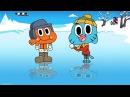 Братья рыбка и котик- Удивительный мир Гамбола- аниме -3 сезон Щенок 1