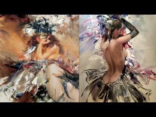 Маскарад художника  Иван Славинский | Загадки и метафоры в картинах / Ivan Slavinsky (HD)