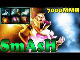 Dota 2 - SmAsH 7000 MMR Plays Invoker Vol 5 - Ranked Match Gameplay