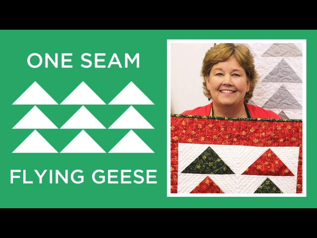 One Seam Flying Geese
