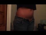 Belly Stretch - Navel Fetish