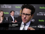 J.J. Abrams, James Franco  Bridget Carpenter Talk to Fans from the Red Carpet  (11.22.63 on Hulu)