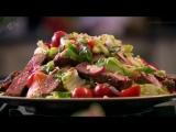 Острый говяжий салат - Простые рецепты Гордона Рамзи.