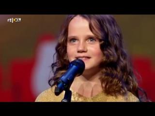 Амира Виллигхаген (Amira Willighagen) 9 лет - шикарный оперный голос